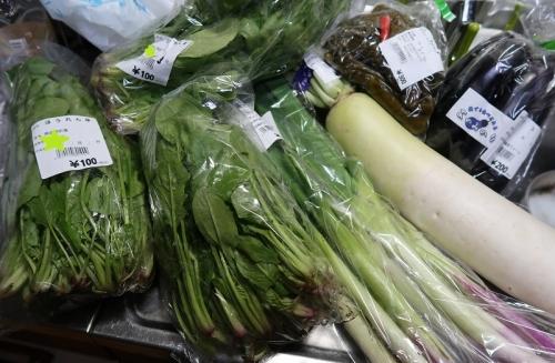 福島 道の駅たじまさんで買った野菜