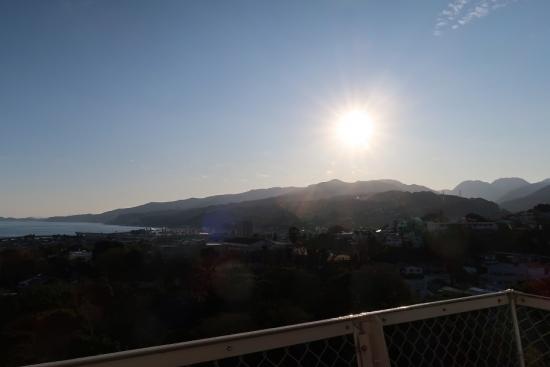 小田原城からの眺め