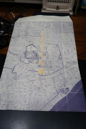 小田原城古地図