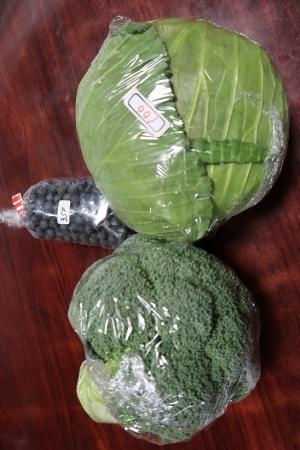 島田で買った野菜