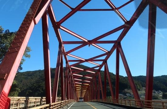 静岡県 船明ダム湖 伊砂橋