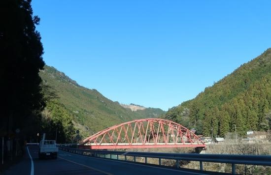 静岡県 秋葉ダム近く 大輪橋