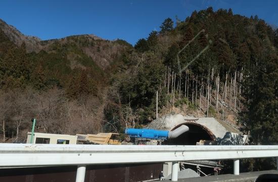 秋葉街道 国道152号線 トンネル工事 令和2年2月1日現在