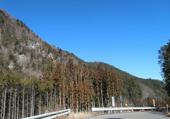 長野県飯田市 国道152号線からの眺め
