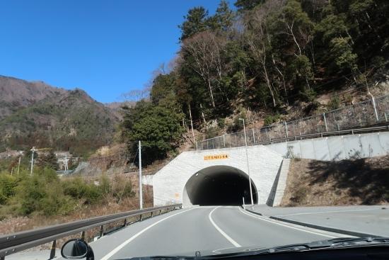 長野県飯田市 国道152号線 下市場トンネル