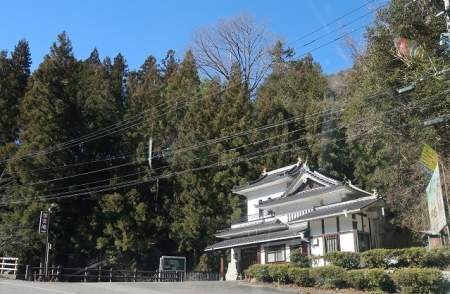 長野県 国道418号 裏に滝があるらしい