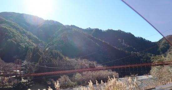 国道418号線 遠山郷 中央橋