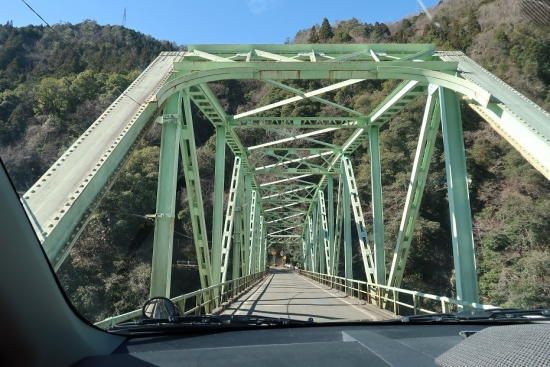 国道418号線 天龍川橋