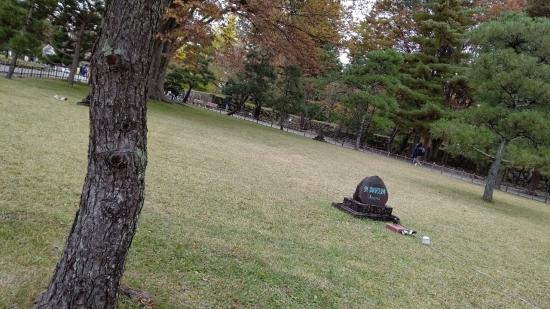 鶴ヶ城(会津若松城)奥御殿跡