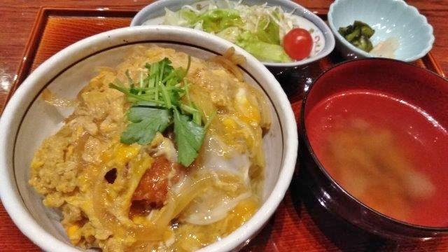 川越のカツ丼 (3)