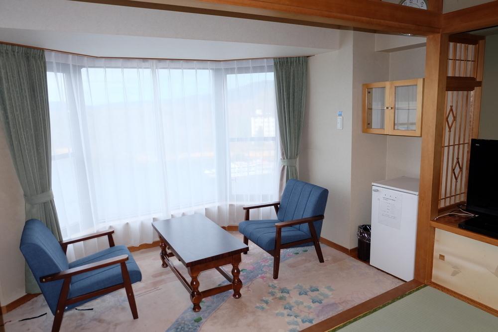 2019-11-24 北海道 16 部屋 縁側