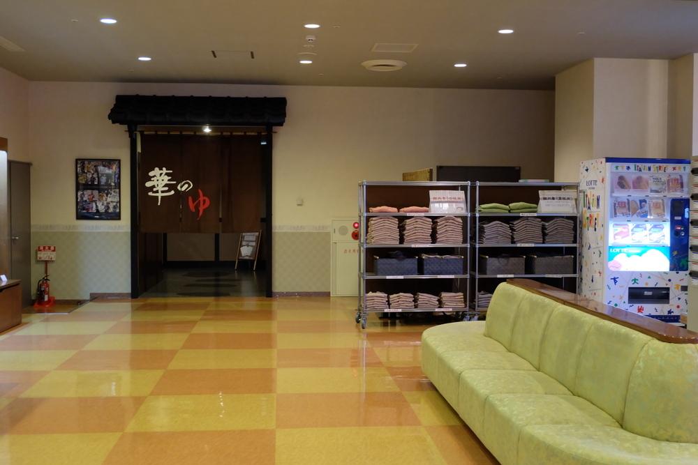 2019-11-29 帯広 華のゆ 02 大浴場への入口