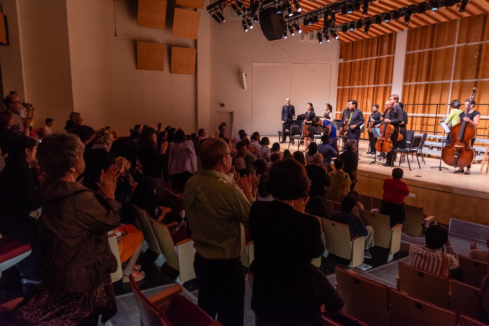 2019 concert standing ovation