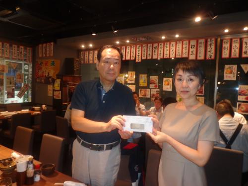 2019 donation to Kodomo Hibishinbun