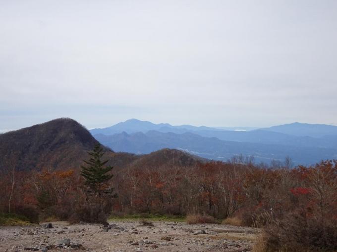 荒山、浅間山、四阿山