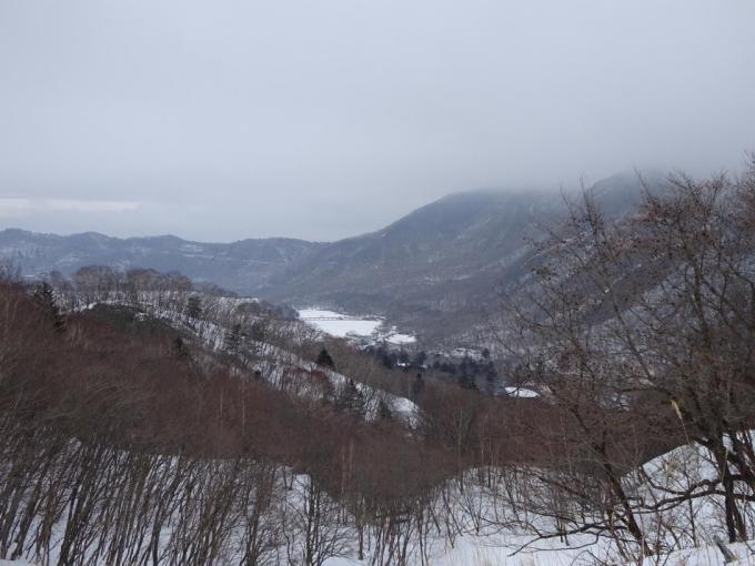 黒檜山も雲の中