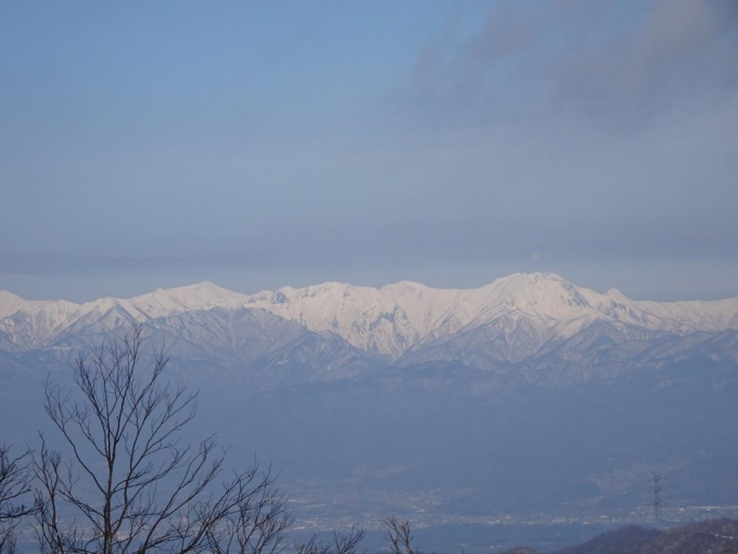 谷川岳はいい天気