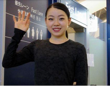 2019.9.8(日)紀平梨花、初戦オータムクラシックへ出発(関空)デイリースポーツ(ブログ)