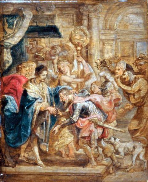 アンリ3世とナヴァラ王の和解