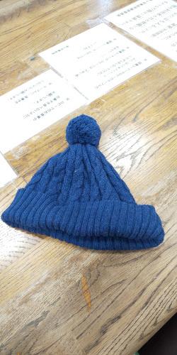 忘れ物の帽子