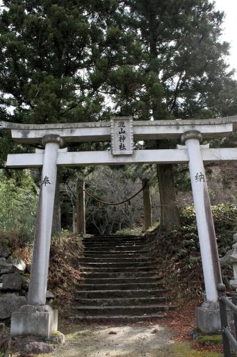 瀧山神社の鳥居