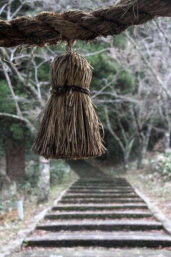 瀧山神社の参道