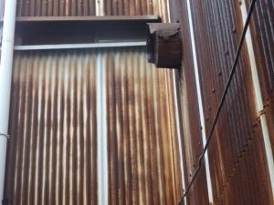 外壁材のさび