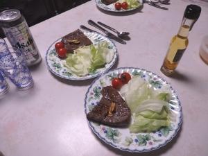 1月12日の夕食