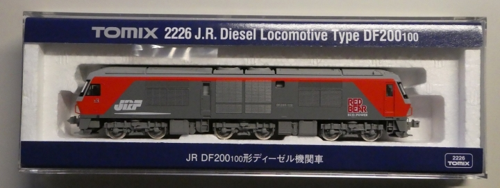 tomix 2226 DF200 100形ディーゼル機関車