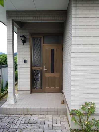 before玄関