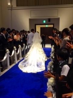 まみ結婚式③