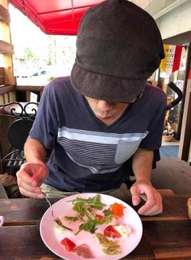 ひばりで昼食