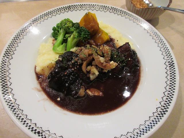 IMG_0458牛ほほ肉の赤ワイン煮