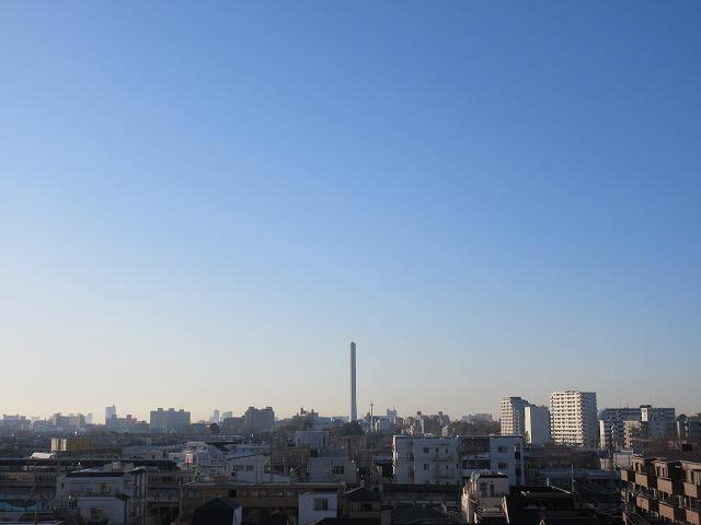01雲ひとつ無いいいお天気