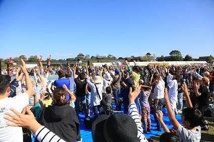 10月14日(月祝)佐賀県・吉野ヶ里歴史公園『吉野ヶ里歴史公園・秋まつり』試合結果