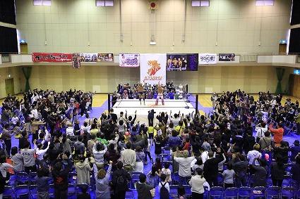 11月17日(日)福岡県飯塚市大会『飯塚ば元気にするバイ!』試合結果