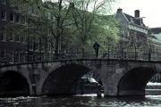 オランダ・アムステルダムの運河