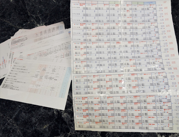 2019年09月16日~21日飛騨高山旅行計画書