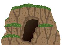 鍾乳洞 洞窟 イラスト