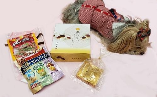 2019年09月30日kanaさんからお菓子とオヤツをいただきました