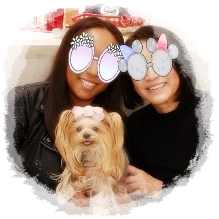 2019年11月28日シホさん母娘とセントバーナード⑤blos