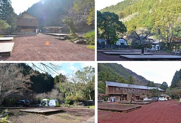 2019年12月30日からの正月旅行-2019年12月31日⑥ 河津七滝到着 (1)キャンプ場入口昔はこんなだったのに