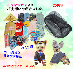 534(2019秋)ルイママさんご支援品S