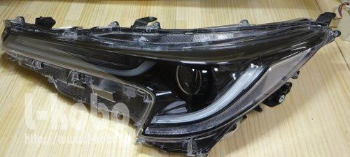 カローラスポーツヘッドライト加工4
