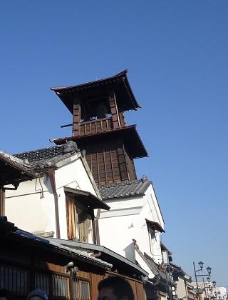 川越名所「時の鐘」