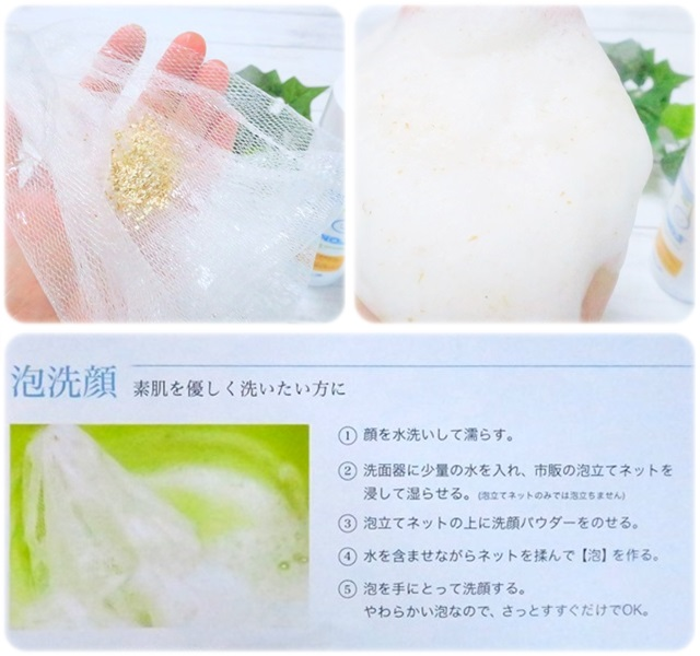 天然素材100% とれるNO.1洗顔パウダー