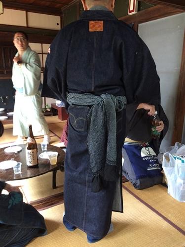 191019_芋煮会_デニム着物