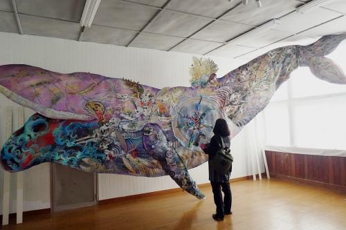 鯨のアート
