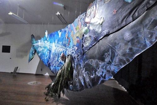 鯨のアート2
