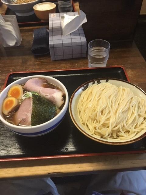 もりそば(大盛)+野菜+チャーシュー+味玉